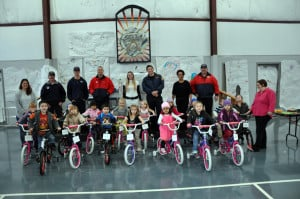 Golden Valley Headstart Christmas Bicycle Giveaway (2)