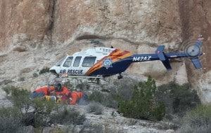 2014 03-09 Hiker Ranger Rescue (11) Search & Rescue photo