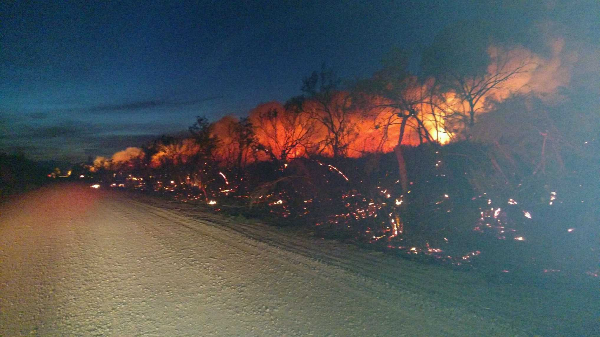 Arizona mohave county topock - South Fire Pic South Fire