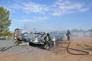 Travel Trailer Fire (2)